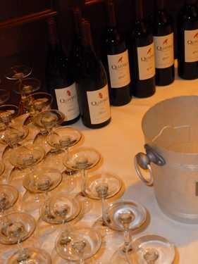 Sampling Biodynamic wines from Demeter-certified Quivira Winery