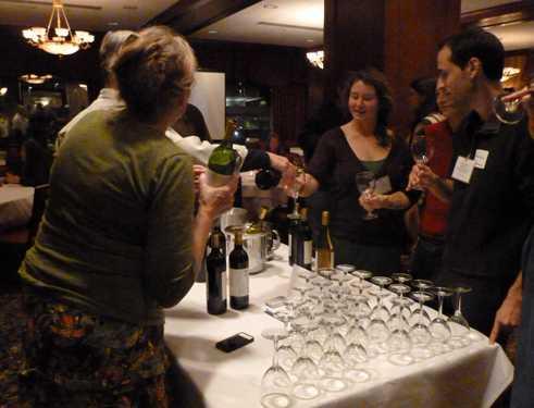 Sampling Biodynamic wines from Demeter-certified Frey Vineyards