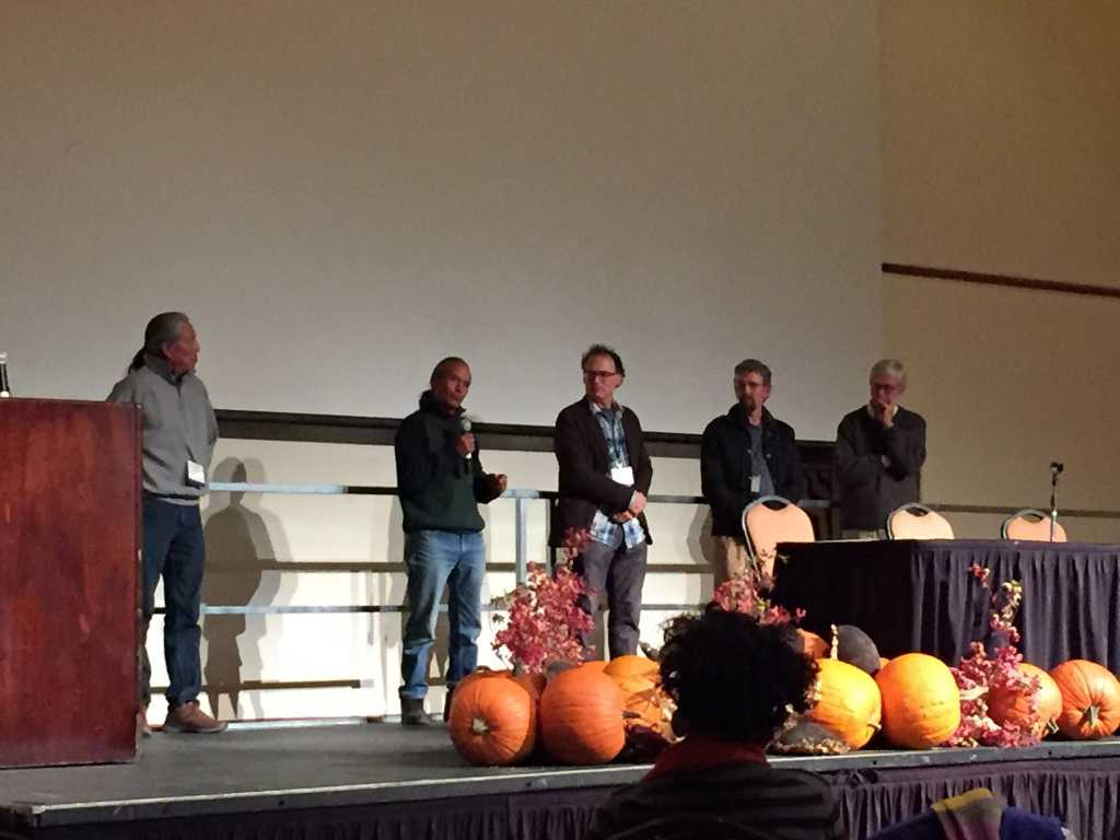 Q&A with director Taggart Siegel, Louie Hena, Emigdio Ballon, Don Tipping, and Gunther Hauk after screening of SEED: The Untold Story