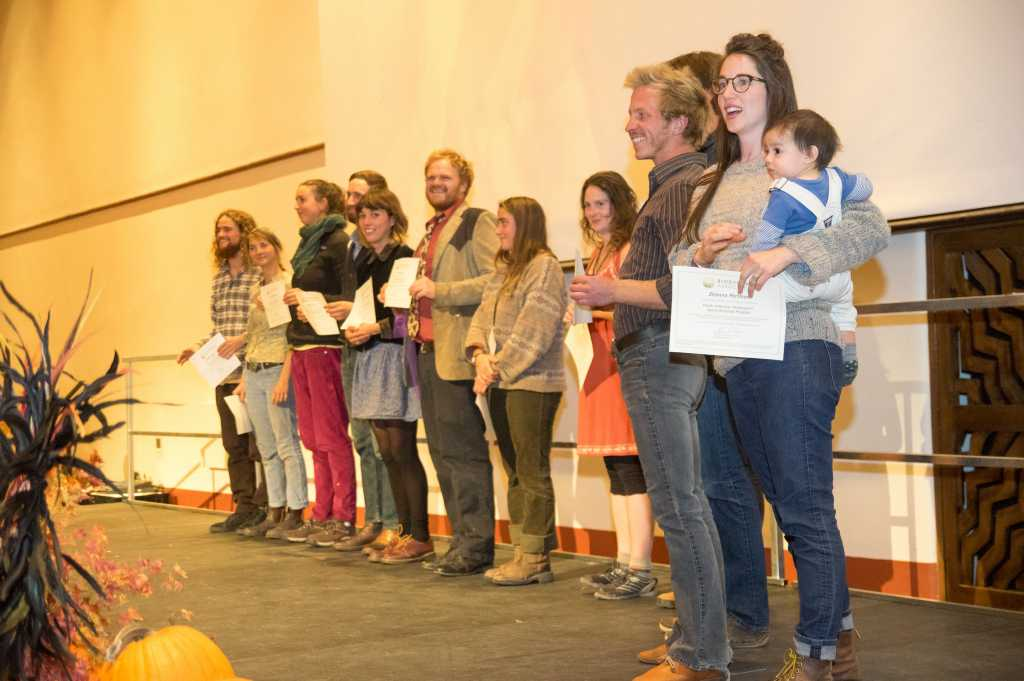 North American Biodynamic Apprenticeship Program graduation ceremony
