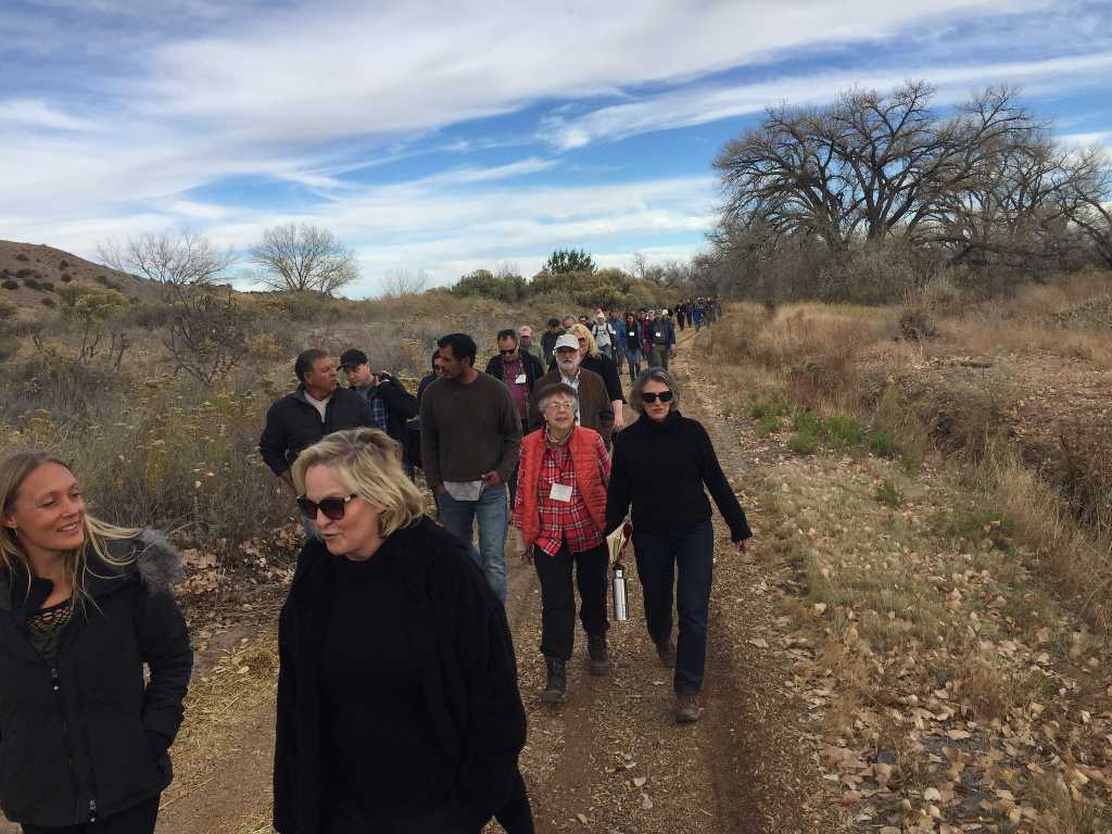 Touring Abiquiu Valley Farm