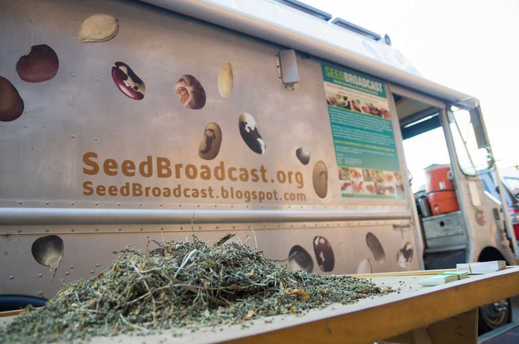 SeedBroadcast's Mobile Seed Story Broadcasting Station