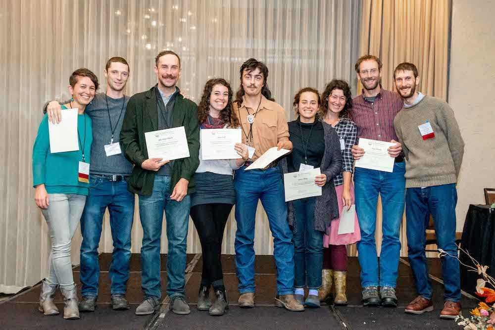 "Graduates from the BDA's Farmer Training Program during ""Next Generation Biodynamic Farmers"""