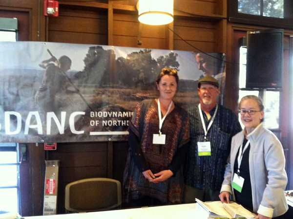 The Biodynamic Association of Northern California (BDANC) was well represented, and we thank them for all their help at both the pre-conference event and main conference!