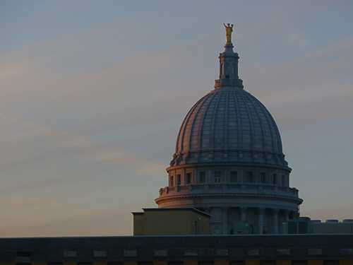 Capitol dome in Madison