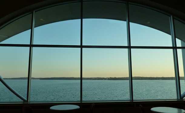 Late afternoon view over Lake Monona