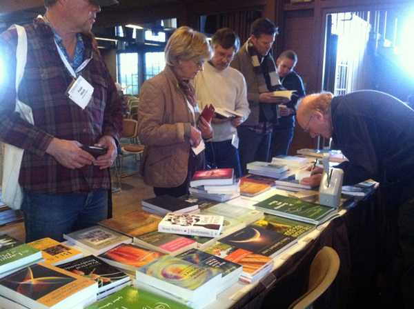 SteinerBooks provides attendees with biodynamic reading material